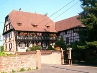 Un superbe gite en alsace,à Weinbourg à 45 km de Strasbourg